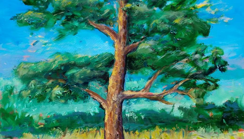 Live Oak - $550, Oil, 36x48.