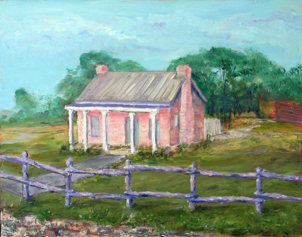 Winter's Home - $350 Oil, 16x20