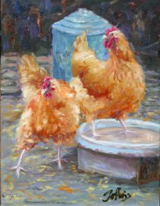 Chicken Feed - Oil, Sold