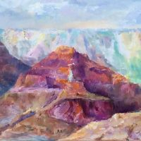 Grand Canyon, $400, Oil, 16x20